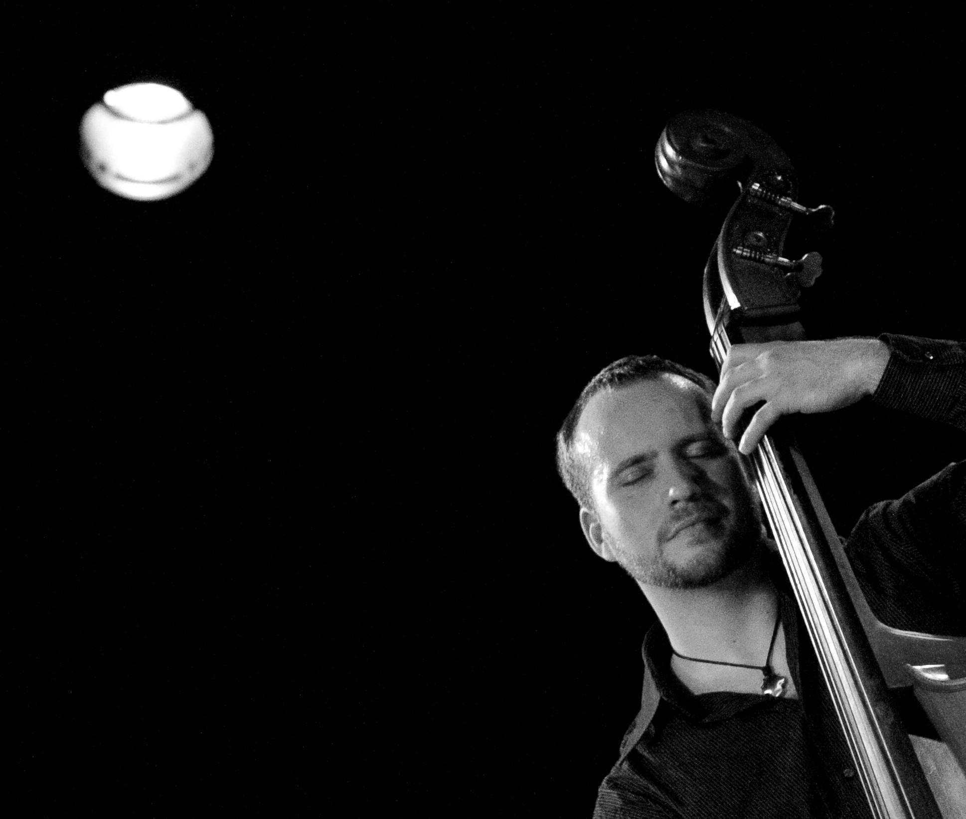 Dirk Kunz - Portrait schwarz-weiß
